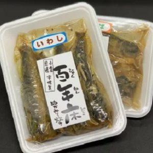 福岡県北九州市の郷土料理 旦過市場にある宇佐美商店 いわしぬかみそ炊き 通販・お取り寄せ