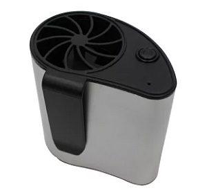 服の中に風を送る小型携帯扇風機エアーベルトファン 通販・レビュー