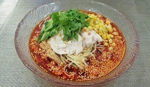 よだれ鶏の冷やし中華・陳建太郎レシピ
