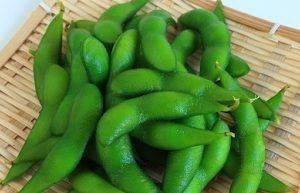 弥彦村産枝豆(丸山農園)枝豆の蒸し焼きレシピ・枝豆はくびれが美味しい!