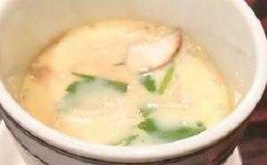 渡貫淳子のラーメンスープを再利用した茶碗蒸しリメイクレシピ