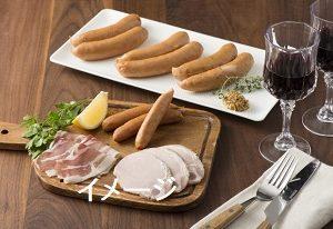 青空レストランで取り上げられた育風堂精肉店の生ハムや雪サラミのセット通販