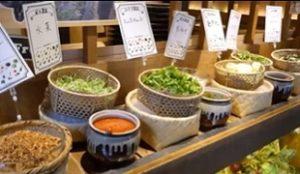 都野菜「賀茂」朝バイキング500円は烏丸店 ZIP!朝ごはんジャーニー