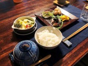 黒姫高原ふふはり亭 ある日の夕食メニュー