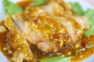 浜内千波さんダイエットレシピ ヘルシー油淋鶏の作り方