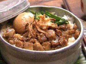 出雲崎産コシヒカリ 出雲崎の輝き(新潟県)ご飯のお供には魯肉飯(ルーロウファン)です いのお飯