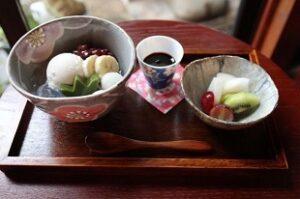 くりーむあんみつ 甘味処 茶房のの メニュー 栃木県足利市