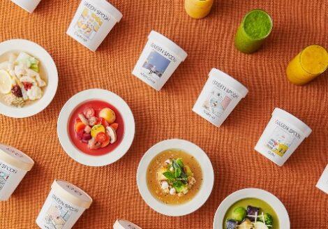 GREEN SPOON 定額制パーソナルフード スムージー・スープが選べます。診断する