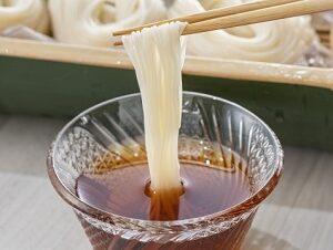 ラヴィットで紹介 極細麺のそうめん三輪山本の白髪と京のそうめんつゆをお取り寄せ