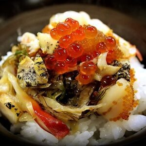 戸田恵梨香、永野芽郁がヒルナンデスで食べた海鮮丼(松前漬け)は七夕野郎 海夢 お取り寄せ